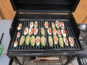 Agridude - Stuffed Jalapenos on Grill