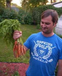 Agridude - Jason and his carrots