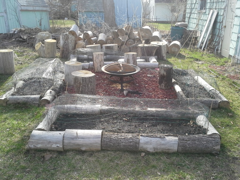 I built this last Fall after the Elm in my backyard was removed. I hope the Morels return even though the Elm is gone.